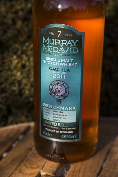 Nasza recenzja Caol Ila 2011, 7 yo, Murray McDavid #16