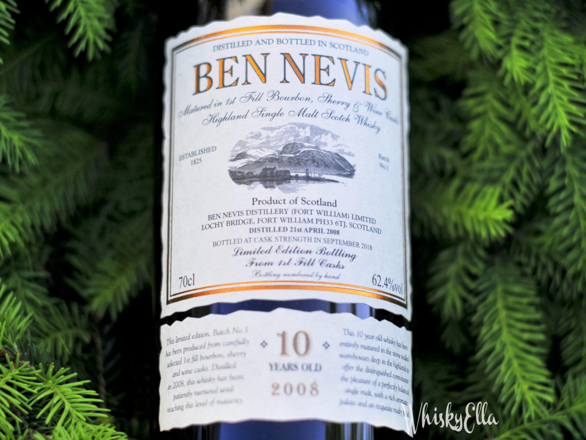 Nasza recenzja Ben Nevis 10 yo Batch No. 1 Limited Edition Vintage 2008 #27