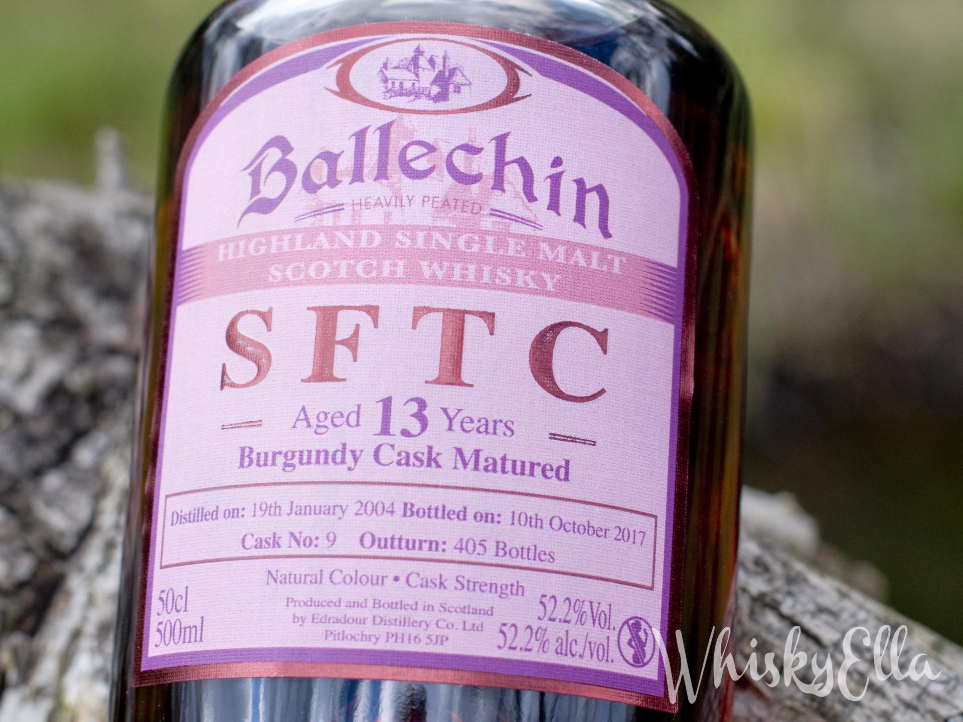 Nasza recenzja Edradour Ballechin SFTC 13 yo Burgundy Cask Matured 52,2% Cask No: 9 #31