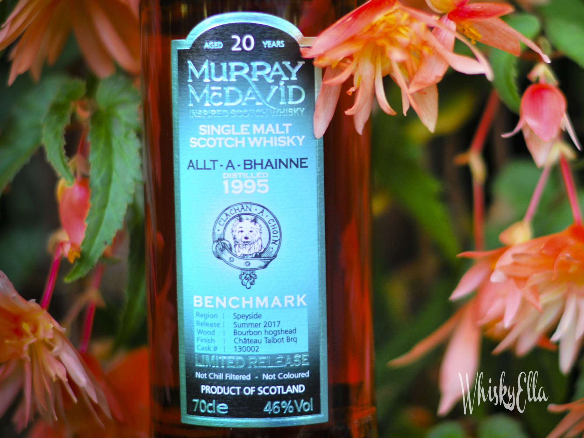 Nasza recenzja Allt-A-Bhainne 1995 20 yo, Murray McDavid #39