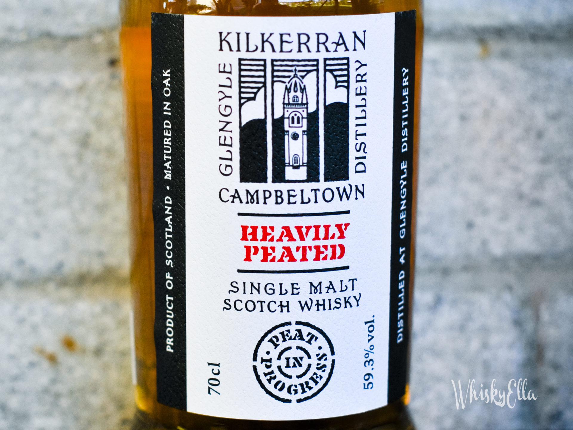 Nasza recenzja Kilkerran Heavily Peated Peat in Progress Batch No. 1 #40