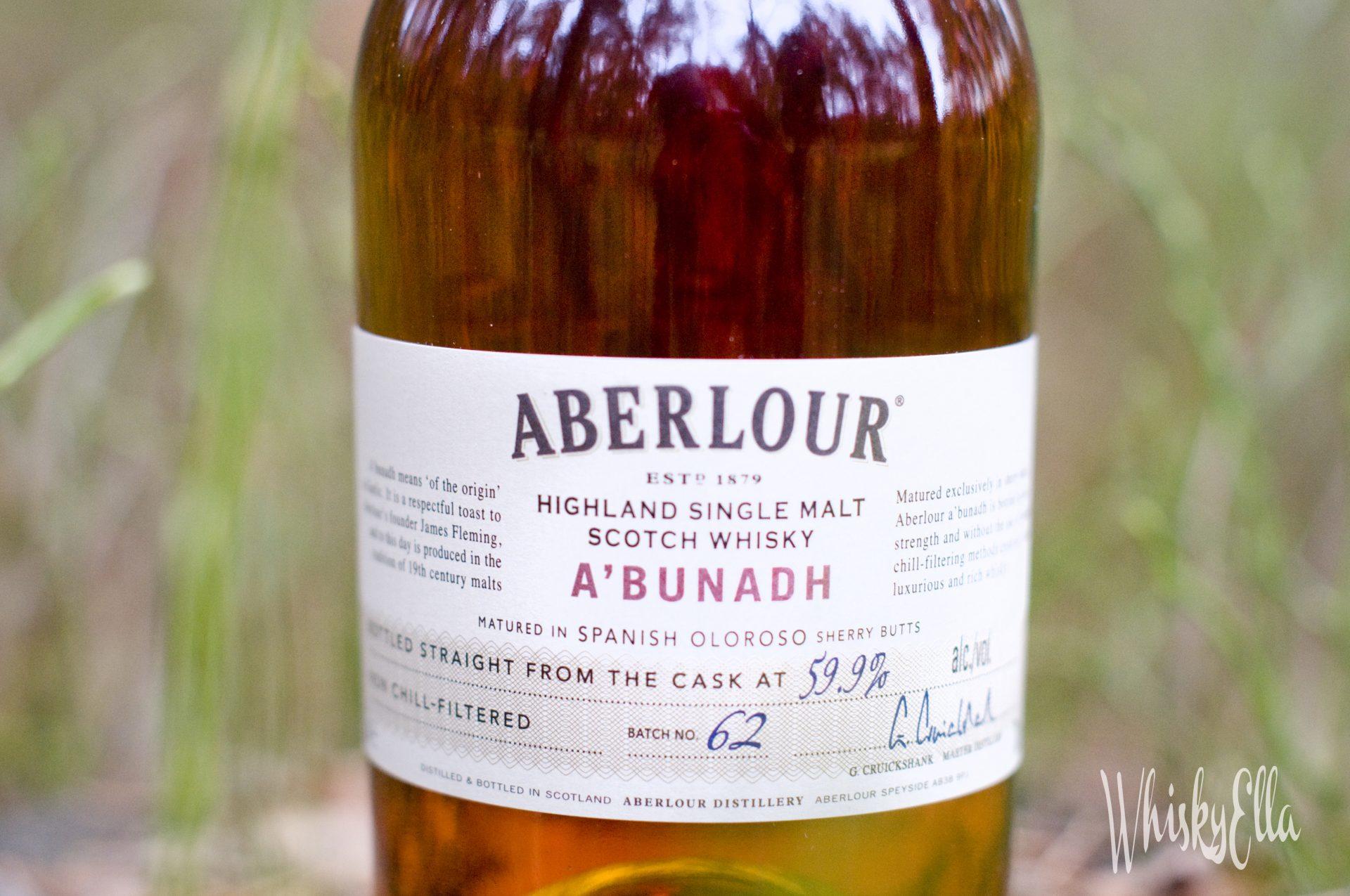 Nasza recenzja Aberlour A'bunadh batch no. 62 #46
