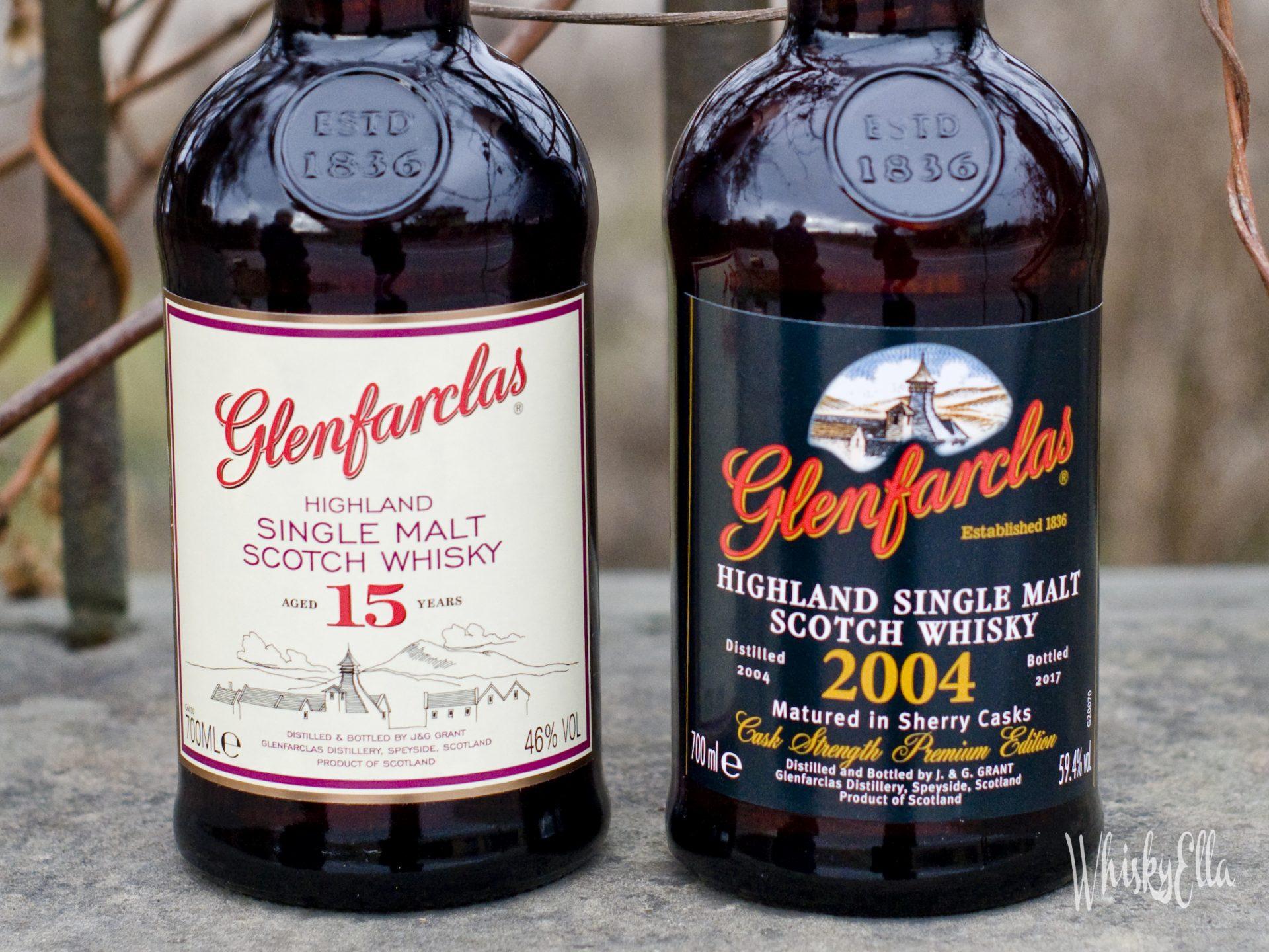 Nasza recenzja Glenfarclas 15 yo vs Glenfarclas 2004 Matured Sherry Cask, Cask Strength 59,4% Bottled 2017 #48
