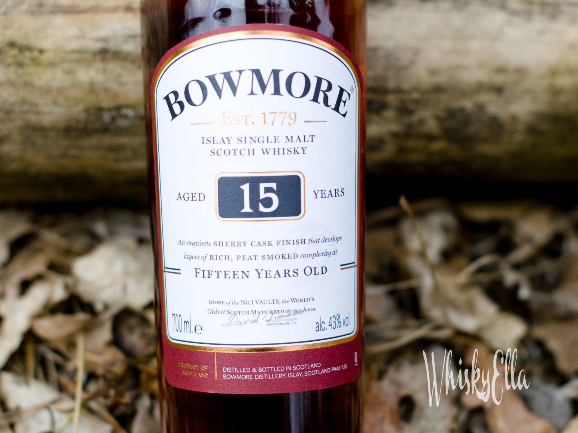 Nasza recenzja Bowmore 15 yo Sherry Cask Finish #57