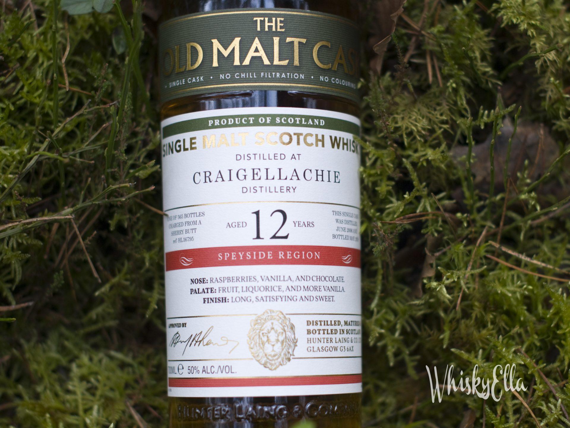Nasza recenzja Craigellachie 12 yo The Old Malt Cask #55