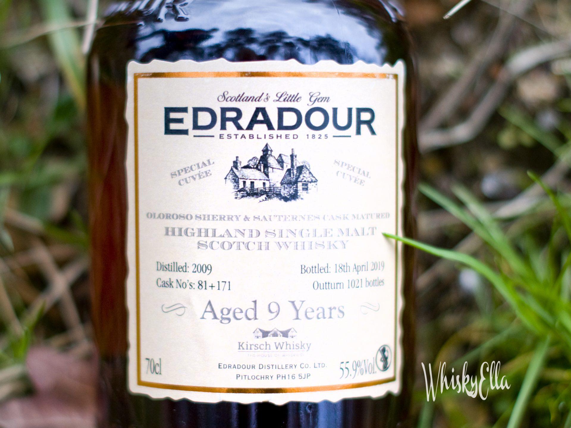 Nasza recenzja Edradour 9 yo Oloroso Sherry & Sauternes Cask Matured #61
