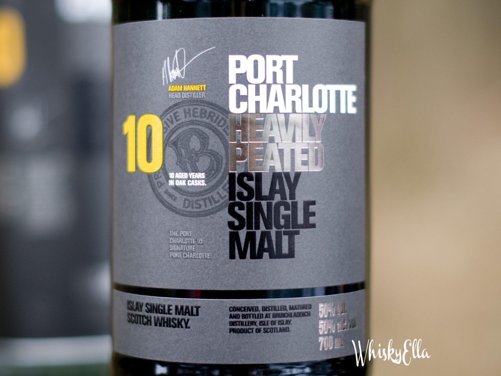 Nasza recenzja Port Charlotte 10 yo Heavily Peated #62