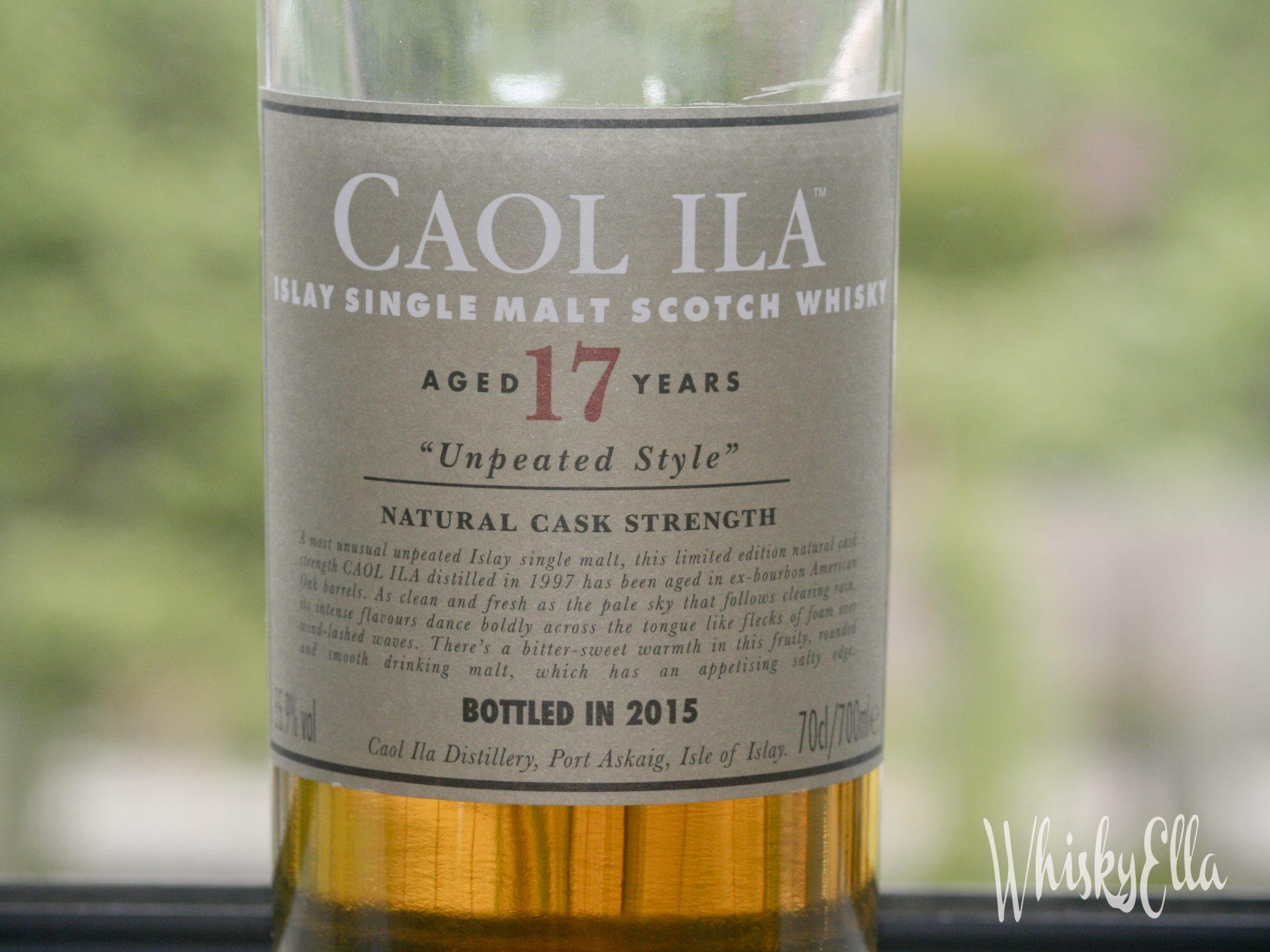 Nasza recenzja Caol Ila Unpeated 17 yo #64