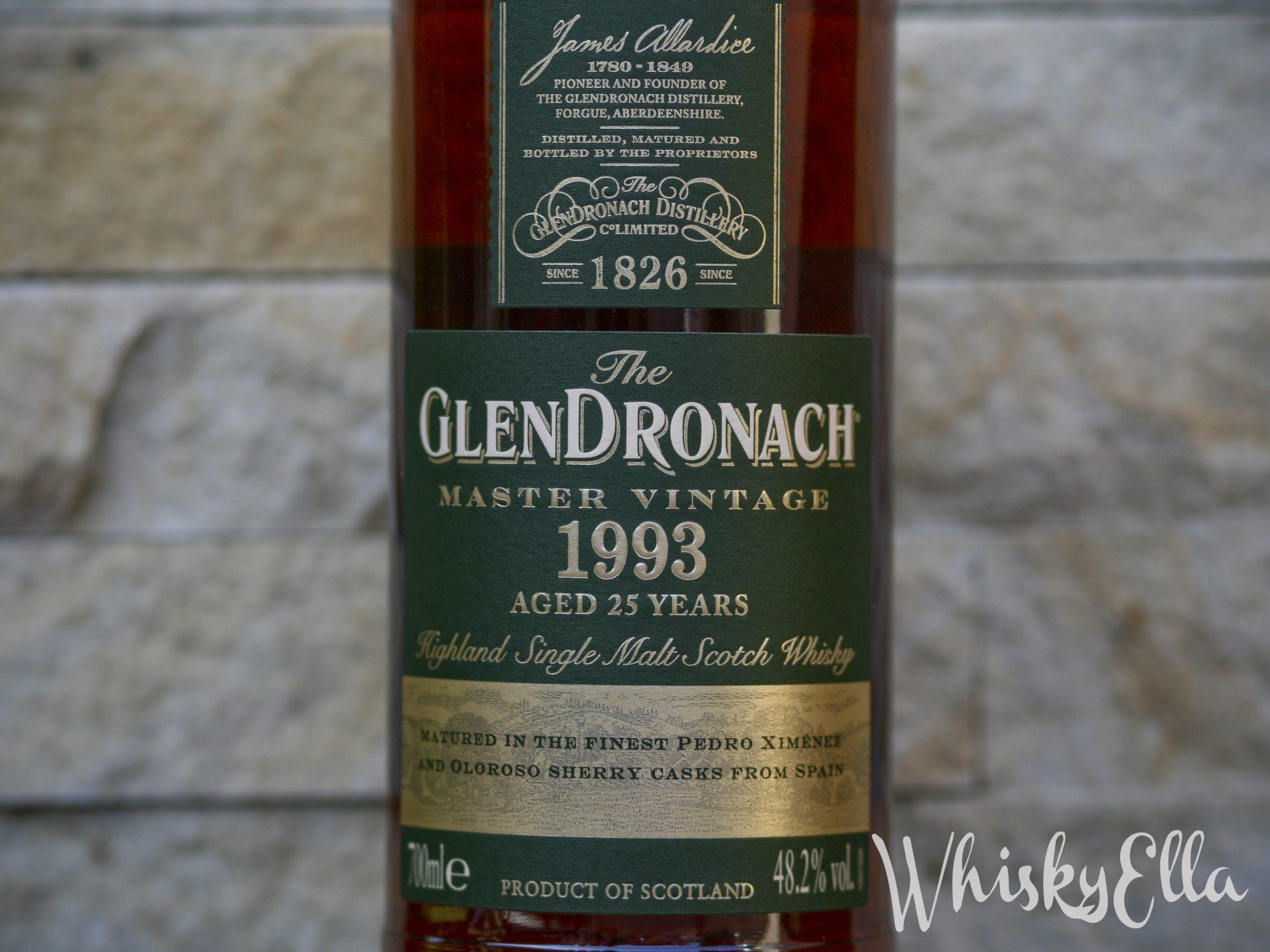 Nasza recenzja GlenDronach 1993 25yo Master Vintage butelkowany 29.01.2019 roku #78