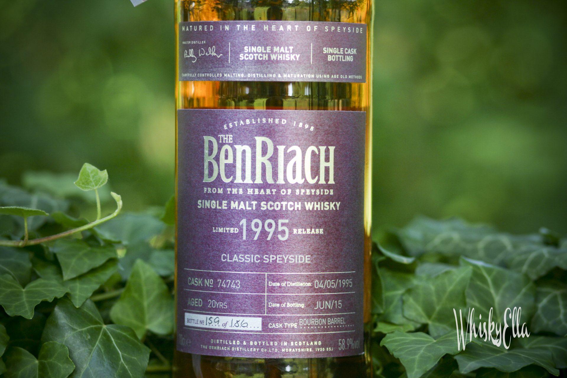 Nasza recenzja BenRiach 1995 20 yo Bourbon Barrel cask 74743 #83