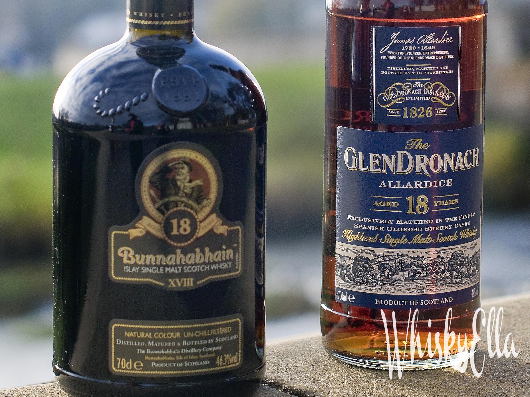 Nasza recenzja GlenDronach 18 yo Allardice vs Bunnahabhain 18 yo #90