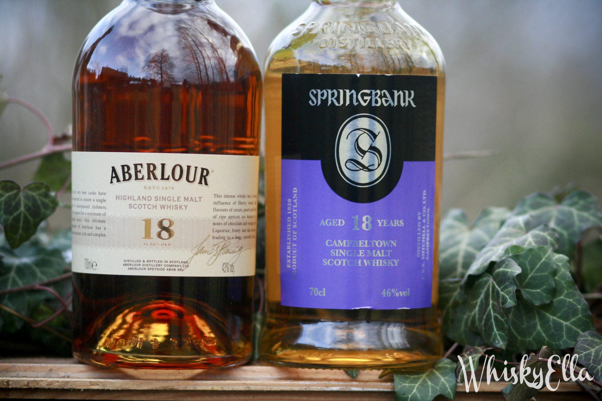 Nasza recenzja Springbank 18 yo vs Aberlour 18 yo #88