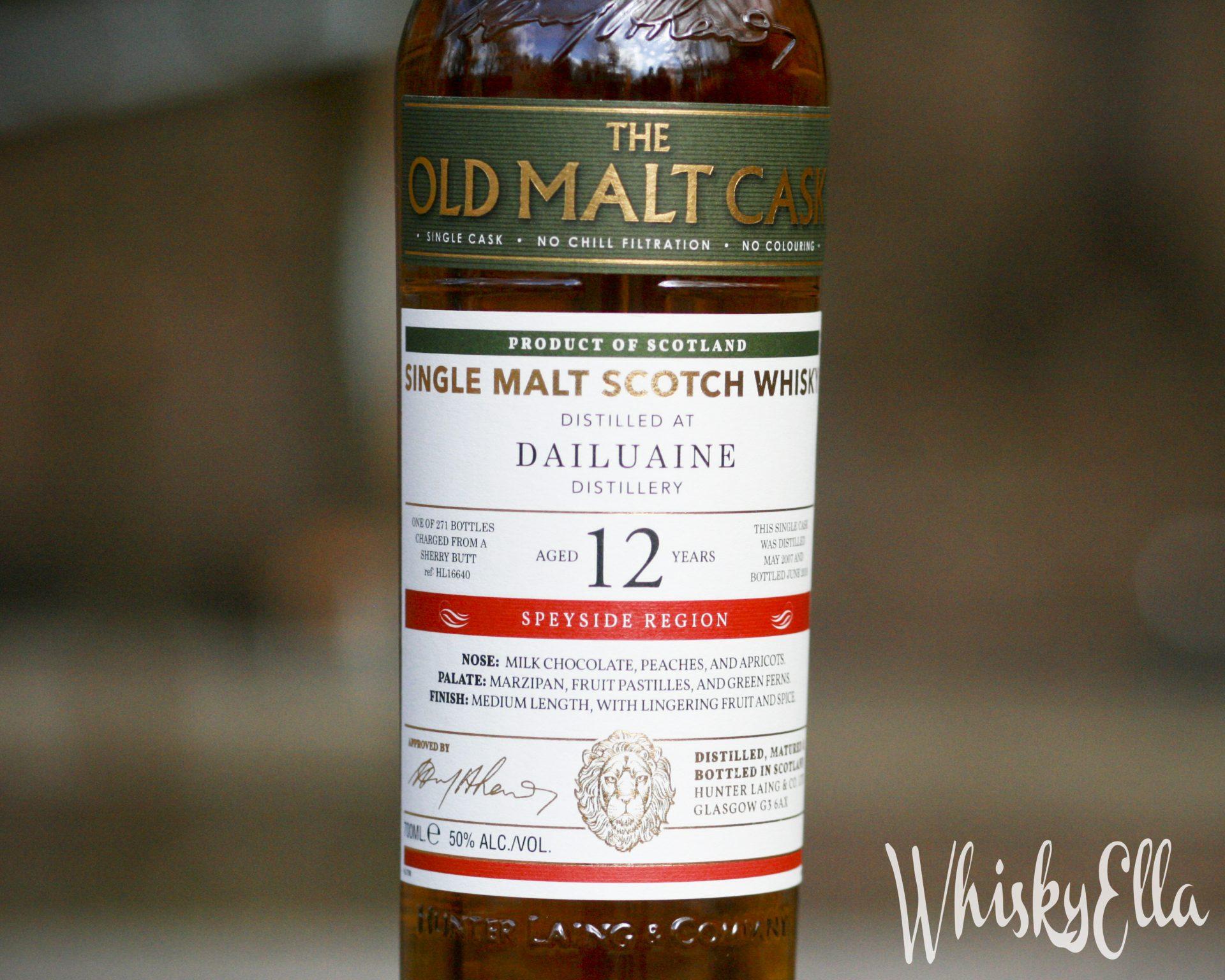 Nasza recenzja Dailuaine 12 yo Old Malt Cask 2007 #101