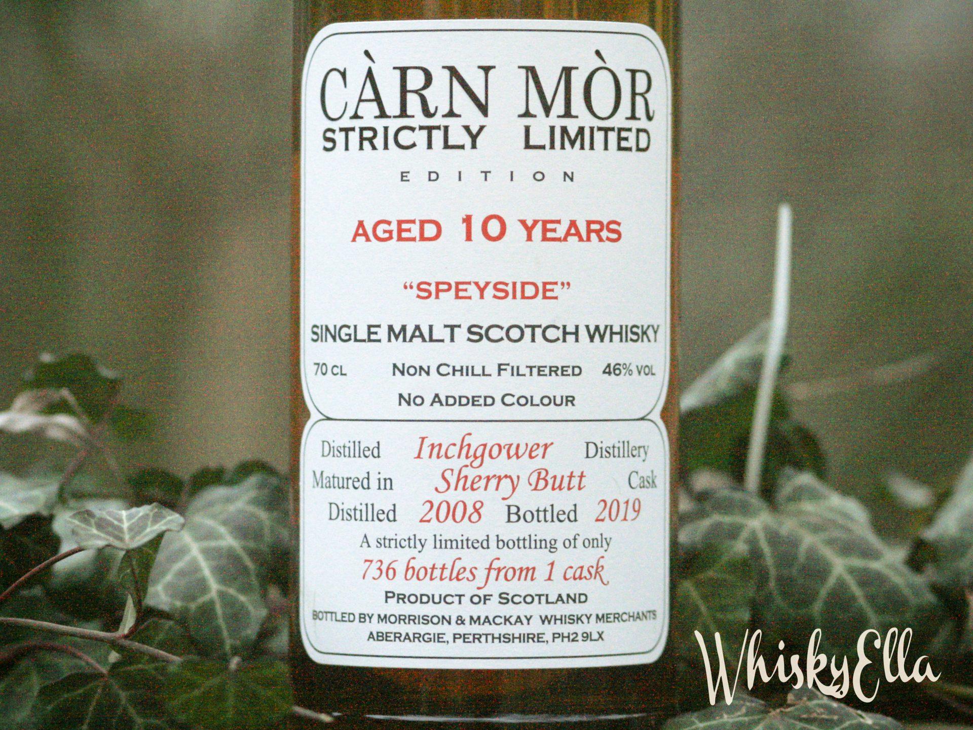 Nasza recenzja Inchgower 10 yo Carn Mor Strictly Limited #108