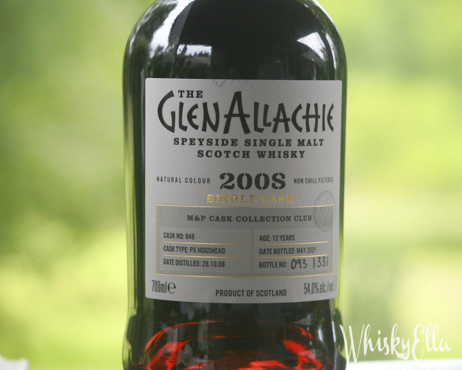 Nasza recenzja Glenallachie 2008 single cask 12 yo Pedro Ximenez M&P #112