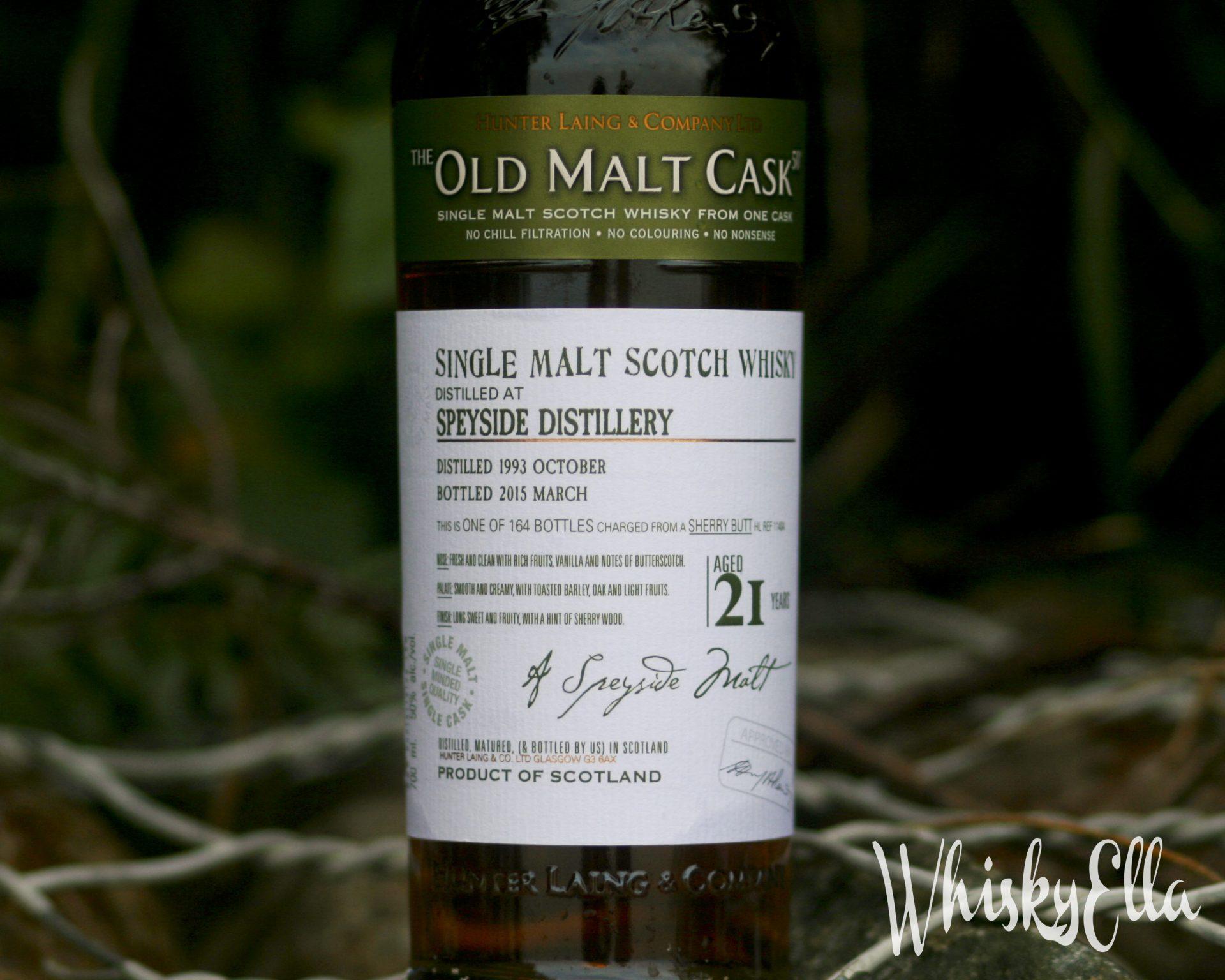 Nasza recenzja Speyside Distillery 1993 21 yo The Old Malt Cask #117